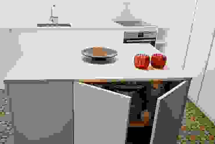 DIseño de Cocina con Isla en Madrid Cocinas de estilo moderno de Línea 3 Cocinas Madrid Moderno