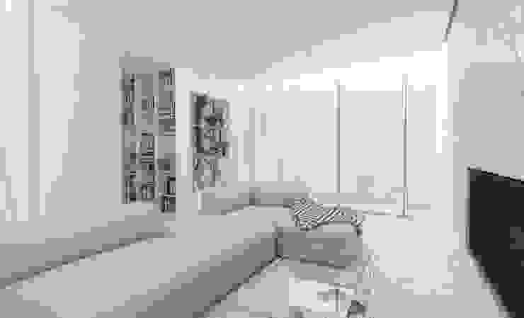 Salones minimalistas de Varq. Minimalista