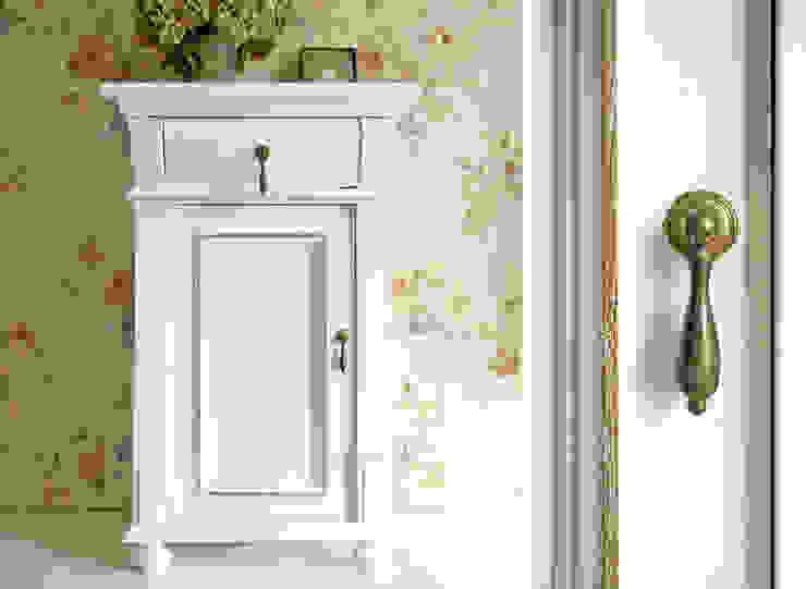 Maisondora Vintage Living QuartoCriado-mudo Madeira Branco