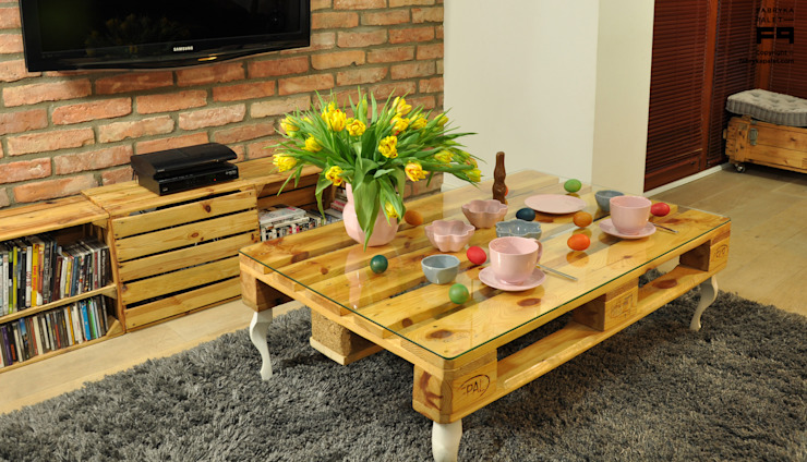 Fabryka Palet Living roomSide tables & trays Kayu