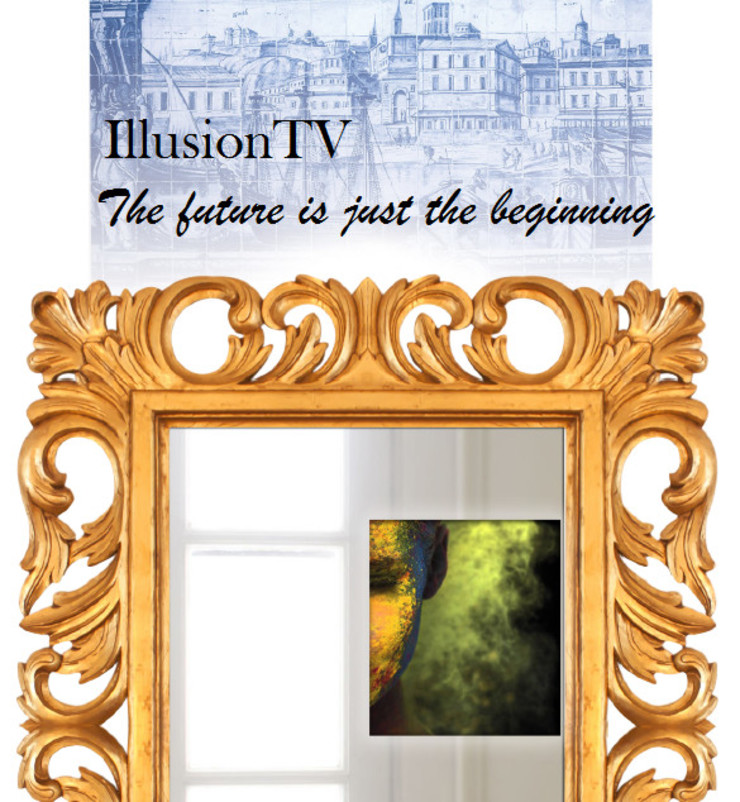 IllusionTV The future is just the beginning... por Glassinnovation Illusion Magic MirrorTV Moderno