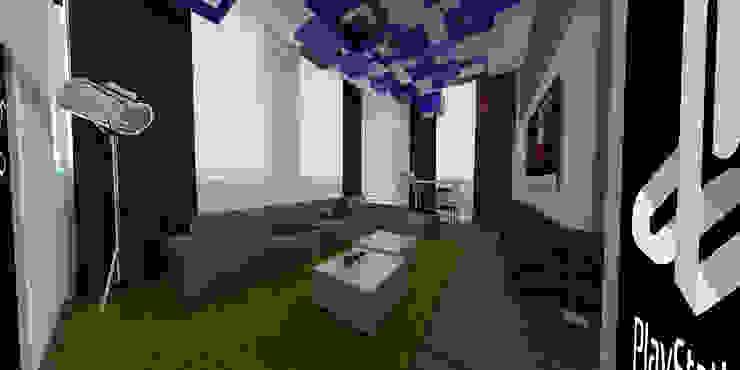 Sala de Juntas Sony Estudios y despachos modernos de ARCO Arquitectura Contemporánea Moderno