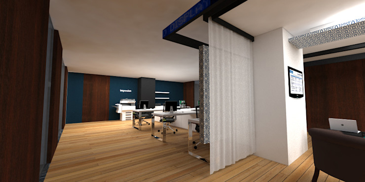 Roche Estudios y despachos modernos de ARCO Arquitectura Contemporánea Moderno