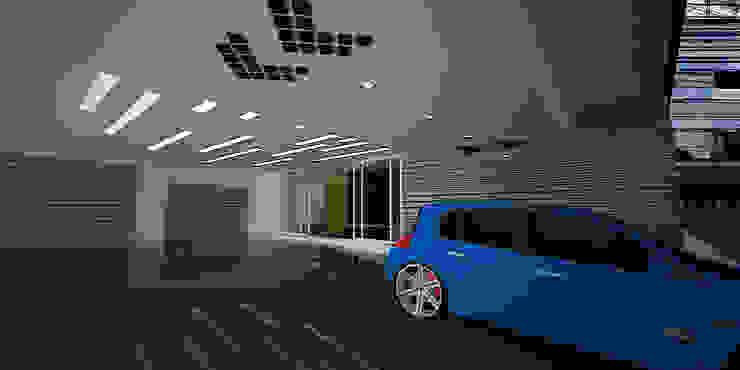 Moderne Arbeitszimmer von ARCO Arquitectura Contemporánea Modern