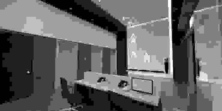 모던스타일 서재 / 사무실 by ARCO Arquitectura Contemporánea 모던