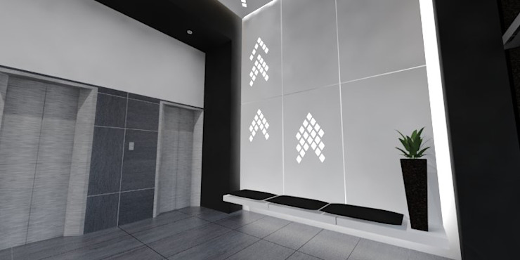 Estudios y despachos de estilo moderno de ARCO Arquitectura Contemporánea Moderno