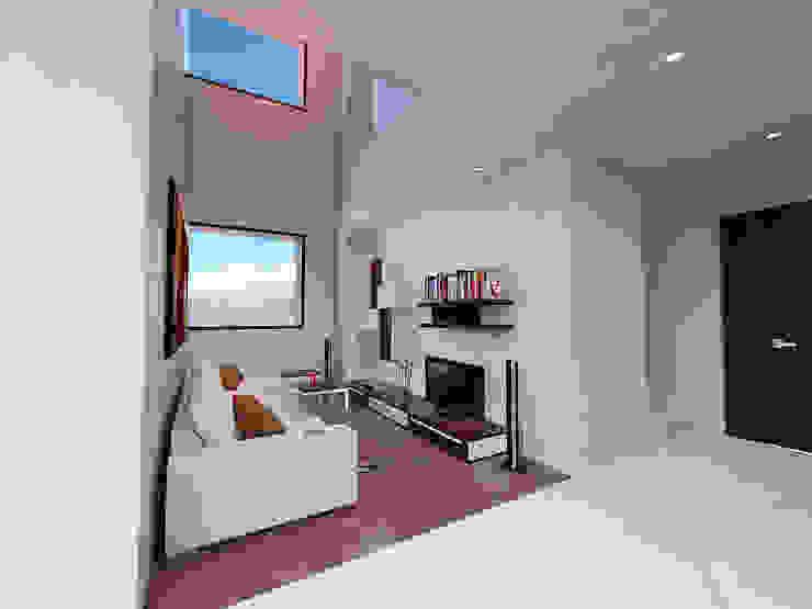 Ruang Media Modern Oleh ARCO Arquitectura Contemporánea Modern