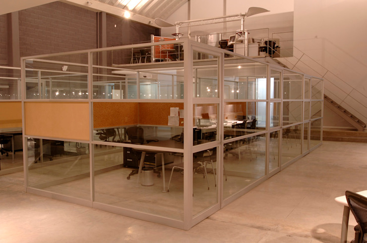 Modern study/office by ARCO Arquitectura Contemporánea Modern