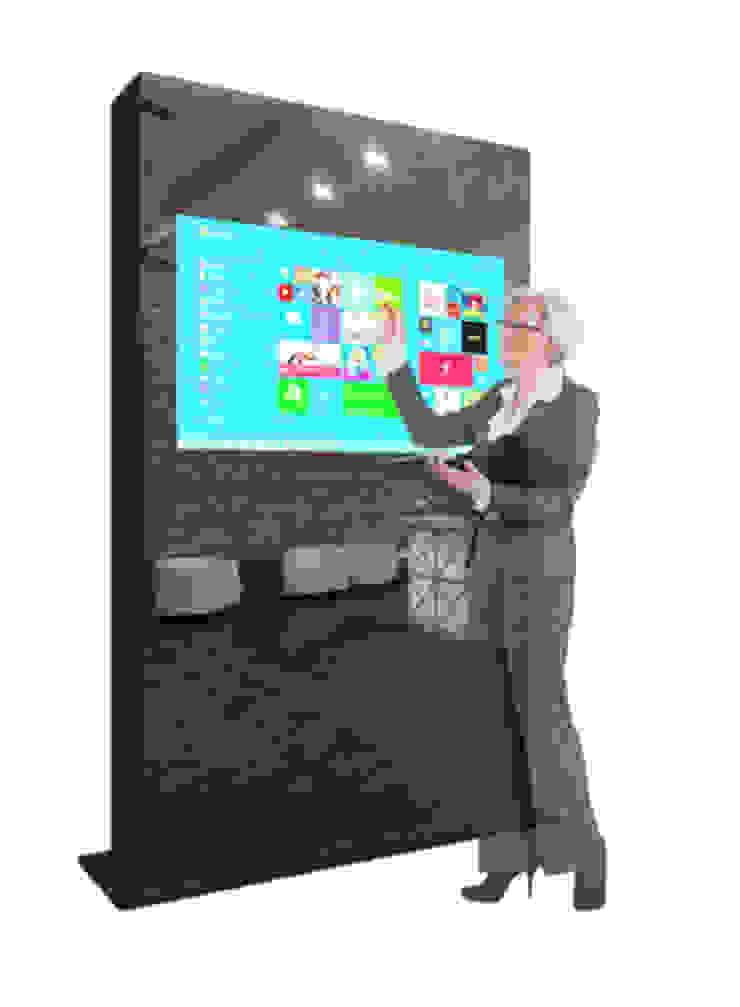 Sistema Full Touch Escritórios modernos por Glassinnovation Illusion Magic MirrorTV Moderno