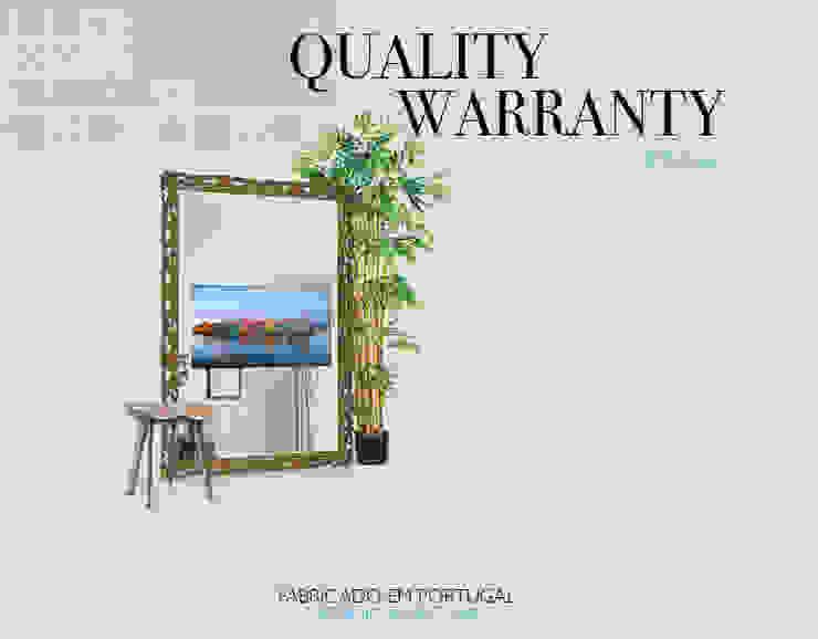 Quality Warranty por Glassinnovation Illusion Magic MirrorTV Moderno