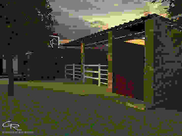 House Paraíso Jardines modernos de GT-R Arquitectos Moderno Ladrillos
