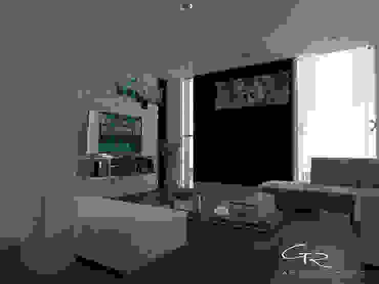 House Paraíso Salones modernos de GT-R Arquitectos Moderno