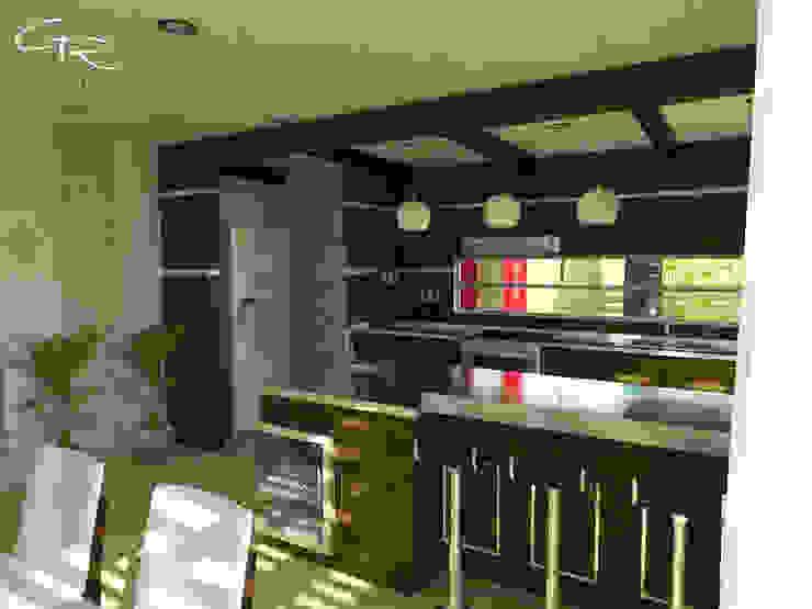 House Paraíso Cocinas modernas de GT-R Arquitectos Moderno