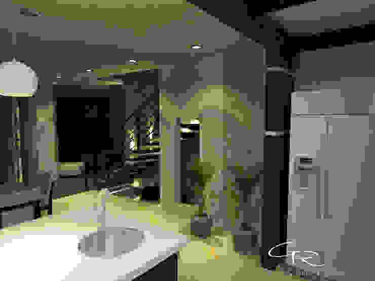 House Paraíso Cocinas modernas de GT-R Arquitectos Moderno Compuestos de madera y plástico