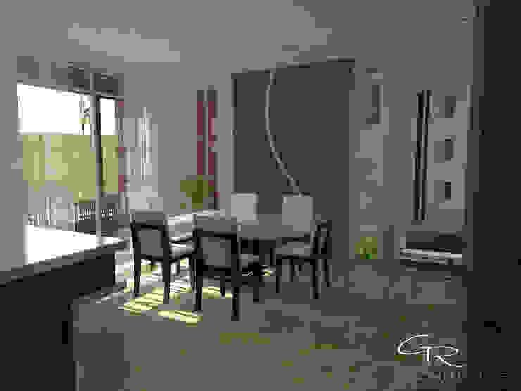 House Paraíso Comedores modernos de GT-R Arquitectos Moderno