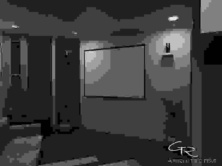 House Paraíso Salas multimedia modernas de GT-R Arquitectos Moderno