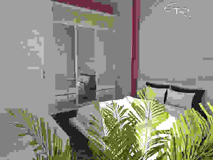 House Paraíso Dormitorios infantiles modernos de GT-R Arquitectos Moderno