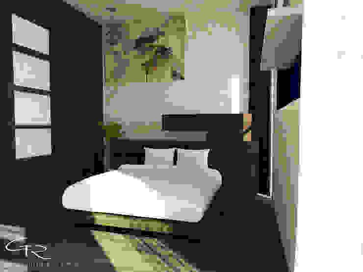 House Paraíso Dormitorios modernos de GT-R Arquitectos Moderno Compuestos de madera y plástico