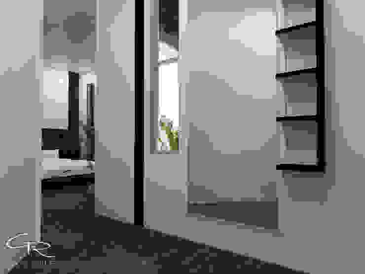House Paraíso Vestidores modernos de GT-R Arquitectos Moderno