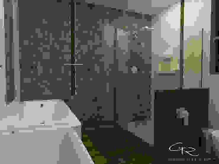 House Paraíso Baños modernos de GT-R Arquitectos Moderno Piedra
