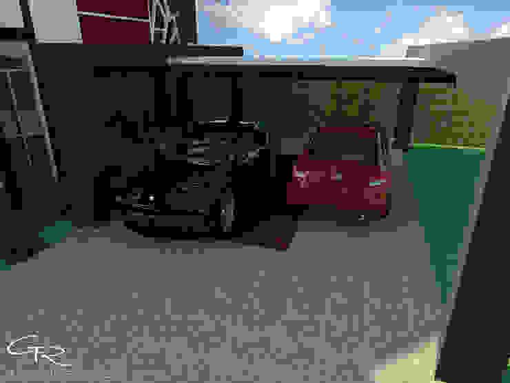 House Paraíso Garajes modernos de GT-R Arquitectos Moderno