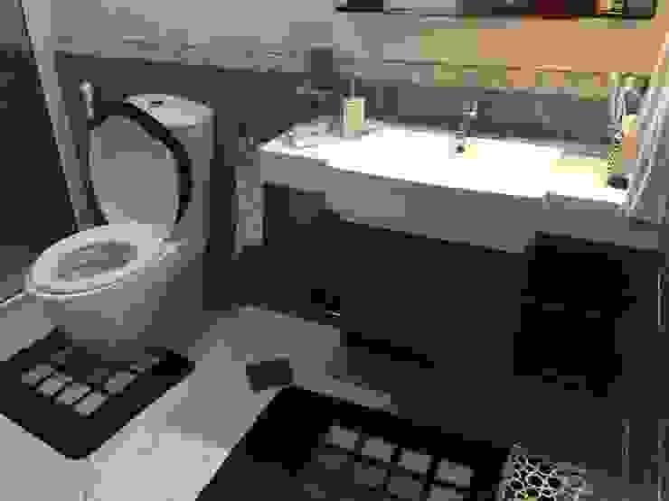 Baños de estilo  por KamalKavitaInteriors