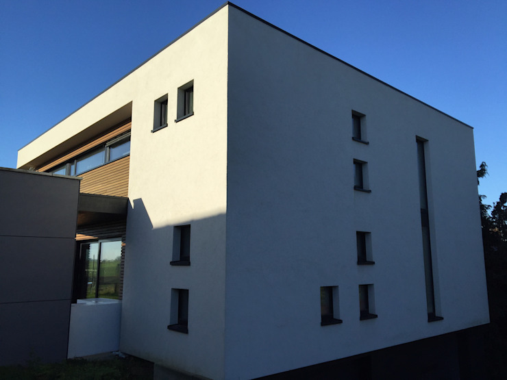 Bureau d'Architectes Desmedt Purnelle Casas modernas