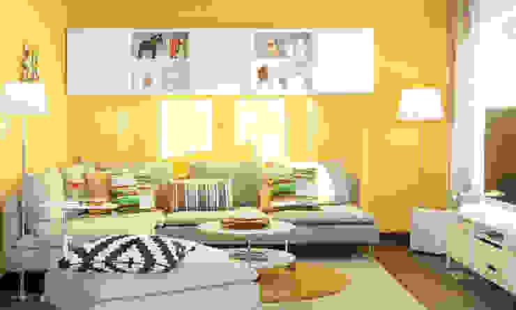 YOUNG FAMILIY HOME - Wohnzimmer: modern  von SchwörerHaus,Modern