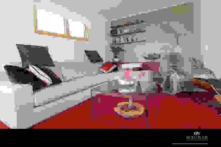 Modern living room by Wagner Möbel Manufaktur Modern