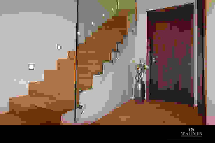Modern Corridor, Hallway and Staircase by Wagner Möbel Manufaktur Modern