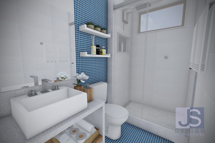 Modern Bathroom by JS Interiores Modern