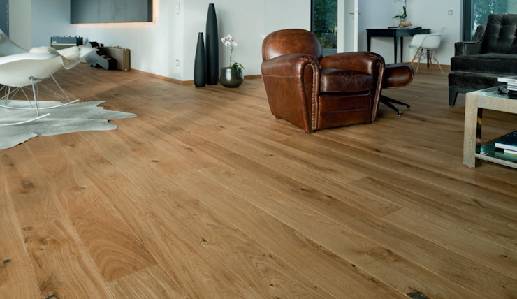 PARQUET 1 LAMA MONTANA Paredes y pisos de estilo moderno de Rochene Floors Moderno Madera Acabado en madera