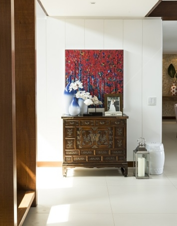 Flavia Guglielmi Arquitetura Modern living room