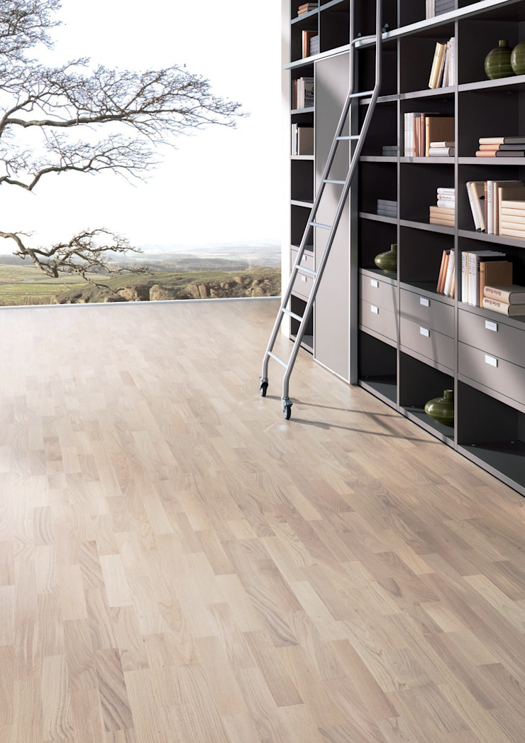 Rochene Floors Dinding & Lantai Modern Kayu