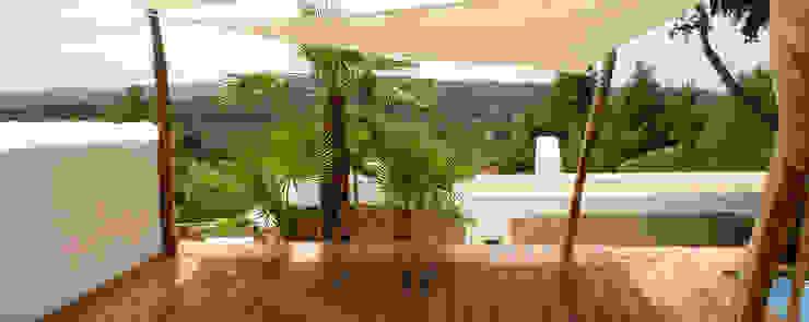 Rochene Floors Dinding & Lantai Gaya Asia Bambu