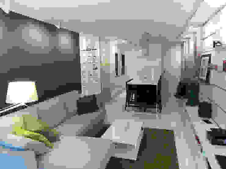 Soggiorno minimalista di Disens Arquitectos Minimalista