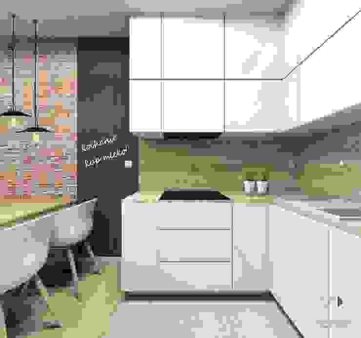 Moderne Küchen von Architekt wnętrz Klaudia Pniak Modern