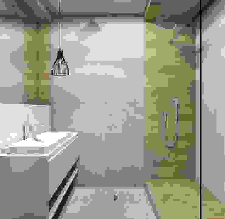 Moderne Badezimmer von Architekt wnętrz Klaudia Pniak Modern
