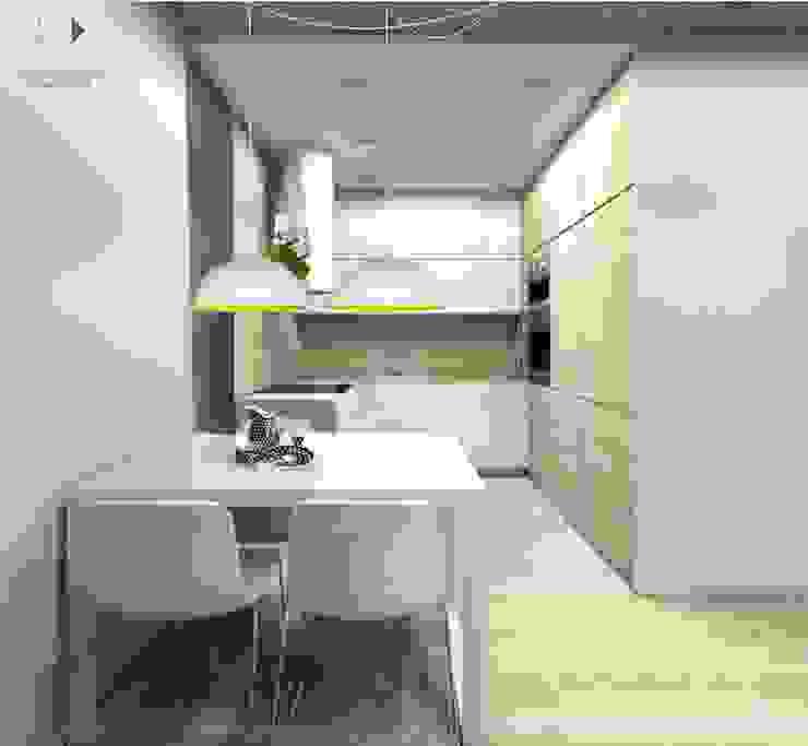 Moderne Esszimmer von Architekt wnętrz Klaudia Pniak Modern