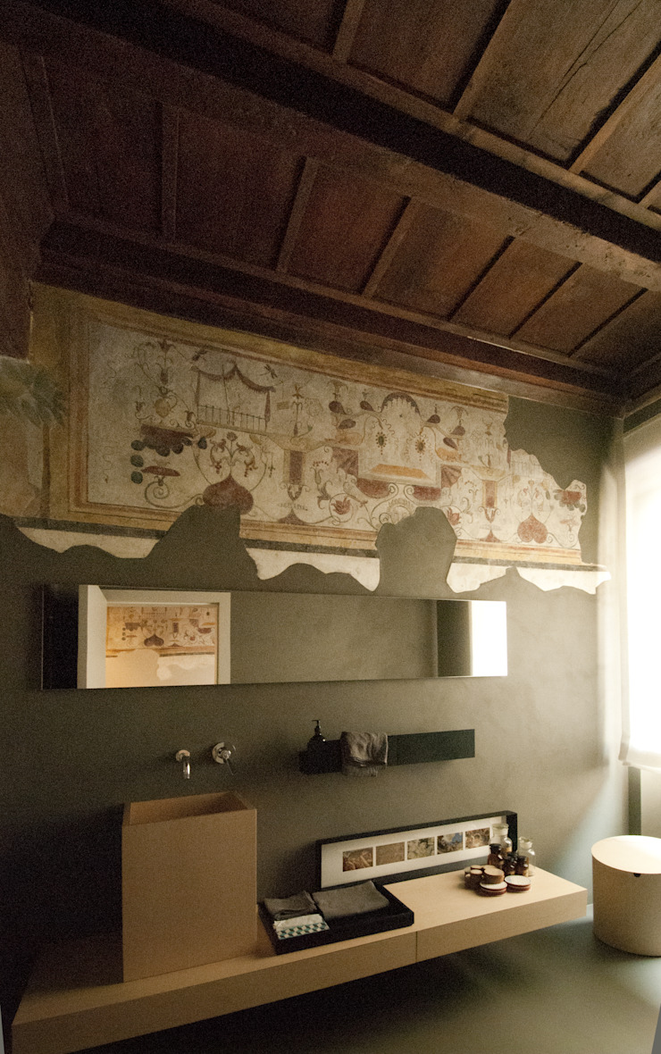 現代浴室設計點子、靈感&圖片 根據 SDC-Milano 現代風