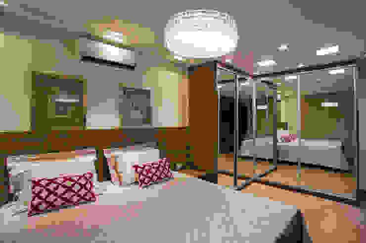 Dormitorios de estilo  por Cabral Arquitetura Ltda.,