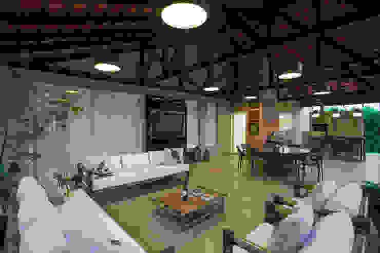 Terrazas de estilo  por Cabral Arquitetura Ltda.,
