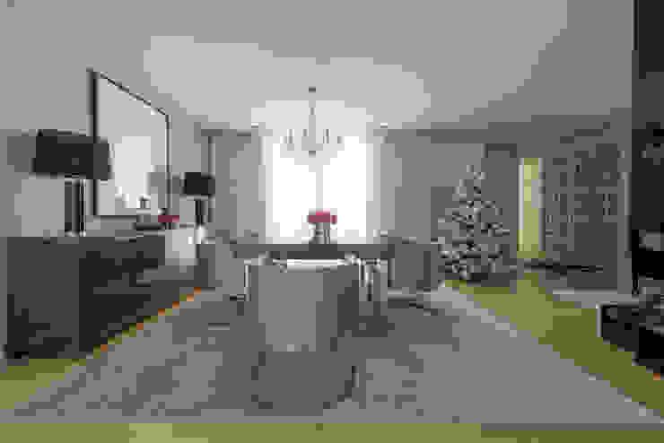 Ruang Makan Modern Oleh NOZ-MOSCADA INTERIORES Modern