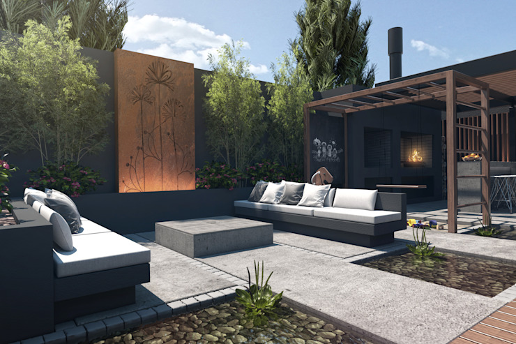 Varandas, alpendres e terraços modernos por TDC - Oficina de arquitectura Moderno