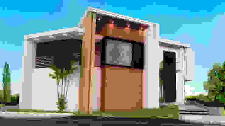 VISTA GENIAL Casas modernas de PROYECTARQ | ARQUITECTOS Moderno Ladrillos