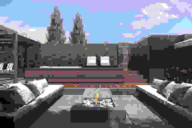 Espacio Solarium TDC - Oficina de arquitectura Balcones y terrazas modernos