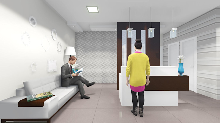Modern Study Room and Home Office by ELO - Arquitetura Integrada Modern