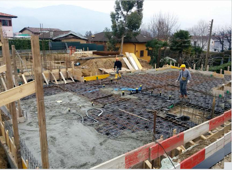 Fabb sa General Contractor Moderne muren & vloeren Gewapend beton