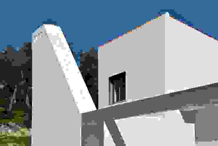 Casas de estilo mediterráneo de é ar quitectura Mediterráneo Concreto