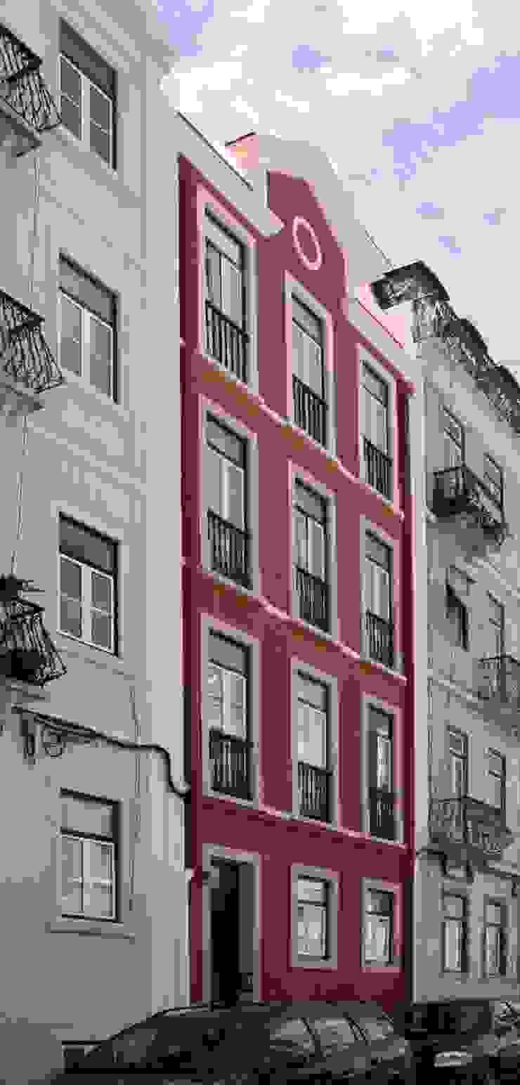 Lapa 79, Residential Building Casas clássicas por é ar quitectura Clássico
